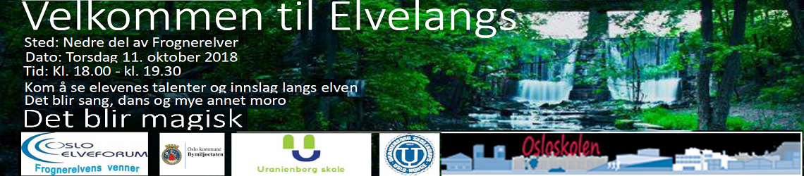 Elvelangs Akerselva 2018